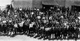 Picture relating to Mackay - titled 'Possibly a waterside workers' strike in Mackay, 1920-1930'