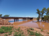 Picture relating to Newman - titled 'Newman Fortescue River Bridge'