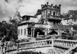 Picture relating to Mena Creek - titled ''Paronella Park' castle at Mena Creek, Queensland, 1948'