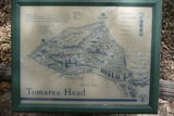 Picture relating to Tomaree Head - titled 'Map of Tomaree Head Walking Tracks'