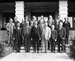 Picture relating to Canberra - titled 'Group of Empire Parliamentary Association delegates at Hotel Canberra'