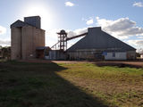 Picture of / about 'Curlewis' New South Wales - Curlewis Graincorp silo