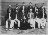 Picture relating to Canungra - titled 'Sporting team from Canungra, ca. 1920'