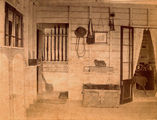 Picture relating to Mackay - titled 'Storage area on the verandah of The Hollow, outside Mackay'