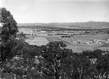 Picture of / about 'Parliament House' the Australian Capital Territory - View from Mount Ainslie along Anzac Avenue towardsOld Parliament House