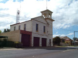 Picture relating to Stawell - titled 'Stawell Fire Brigade Station'