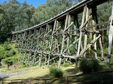 Picture relating to Noojee - titled 'Historic Trestle Bridge'