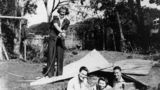 Picture of / about 'Manly' Queensland - American and Australian soldiers with two female friends, Manly, Brisbane, 1942