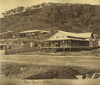 Picture relating to Cooktown - titled 'Cooktown Court House, ca. 1878'