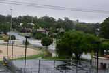 Picture relating to Wedderburn - titled 'Chapel St Wedderburn in flood'