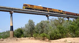 Picture relating to Katherine - titled 'Katherine River Railway Bridge'