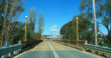 Picture relating to Boorowa River - titled 'Bridge over Boorowa River at Boorowa'