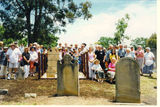 Picture relating to Campbelltown - titled 'Robert Woodbridge's Grave Refurbishment & Family Reunion at St John's Campbelltown 2004'