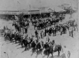 Picture relating to Mackay - titled 'Commonwealth Day celebrations, Mackay, Queensland, 1901'