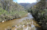 Picture relating to Mersey River - titled 'Mersey River, Tasmania'