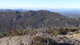Picture relating to Mavis Ridge - titled 'Mavis Ridge as seen from summit of Mount Namadgi'