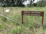 Picture relating to Pilliga - titled 'Minnon Mission Cemetery Pilliga'