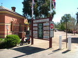 Picture relating to Echuca - titled 'Port of Echuca Tourist Information Sign'
