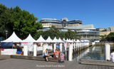 Picture relating to Pyrmont - titled 'SMH Growers Fresh Food Market  Pyrmont Bay Marina by Sydney Harbour'