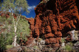 Picture relating to Karijini National Park - titled 'Knox Gorge - Karijini National Park'