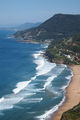 South from Bald Hill lookout, Stanwell Tops
