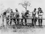 Picture relating to Beaudesert - titled 'Wash day for the soldiers, Beaudesert, ca. 1937'