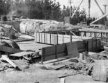 Picture relating to Mount Stromlo - titled 'Construction site, Mount Stromlo.'