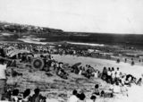 Picture relating to Caloundra - titled 'King's Beach, Caloundra, 1945'