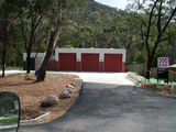 Picture relating to Halls Gap - titled 'Halls Gap Fire Station'