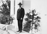 Picture relating to Yarralumla - titled 'Prime Minister Rt Hon J. H Scullin at Government House, Yarralumla.'