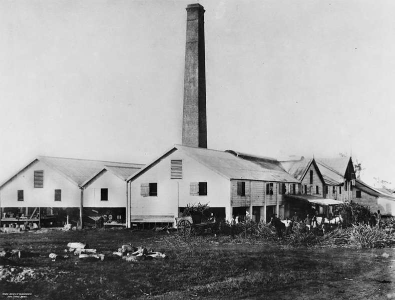 Picture of / about 'Mackay' Queensland - Habana Sugar Mill, Mackay, 1895