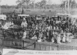 Picture relating to Esk - titled 'St. George's Day procession at Esk, ca. 1916'