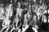 Picture relating to Boulia - titled 'Members of the Great Northern Rabbit Board, Boulia'