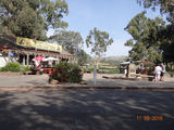 Picture relating to Gundagai - titled 'Dog on the tuckerbox tourist centre.'