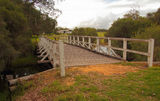 Picture relating to Neergabby - titled ' Heritage bridge, Neergabby WA'