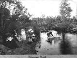 Picture relating to Canoona Creek - titled 'Canoona Creek, Queensland, ca 1899'