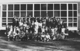 Picture relating to Bollon - titled 'Students and staff at Bollon State School, ca. 1931'