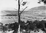 Picture relating to Reid - titled 'Reid and Civic Centre from Mount Ainslie'