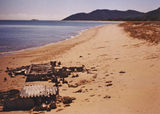 Picture relating to Cape Melville - titled 'Wreckage of Bell P39N Aerocobra'