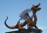 Picture relating to Laverton North - titled 'Dragon at Laverton North.'