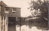 Picture relating to Windsor - titled 'Brisbane house in Flood  1920's'