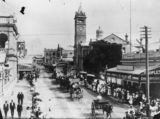 Picture relating to Gill Street - titled 'Procession on Gill Street, Charters Towers, Queensland, ca. 1912'