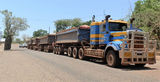 Picture relating to Wyndham - titled 'Roadtrain Wyndham'