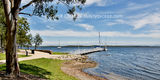 "Picture relating to Lake Macquarie - titled 'Lake Macquarie - Murrays Beach. Art photo digital download and wallpaper screensaver.  <a href=""http://www.sunnypicsoz.com"" rel=""nofollow"">www.sunnypicsoz.com</a> DIY Print.'"