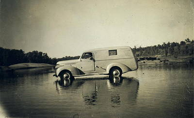 Picture of / about 'Leichhardt River' Queensland - Methodist Inland Mission vehicle
