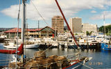 Picture relating to Hobart - titled 'Constitution Dock  Hobart TAS'