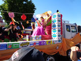 Picture relating to Gayndah - titled 'Gayndah Orange Festival Procession'