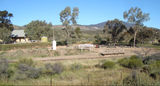 Picture relating to Woolshed Flat - titled 'Railway Station & Flinders Ranges Scenery Woolshed Flat'