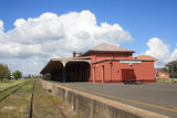 Picture relating to Wallangarra - titled 'Wallangarra Railway Station'