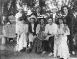 Picture relating to Charleville - titled 'Group of tennis players at the River Tennis Club, Charleville, ca.1912'